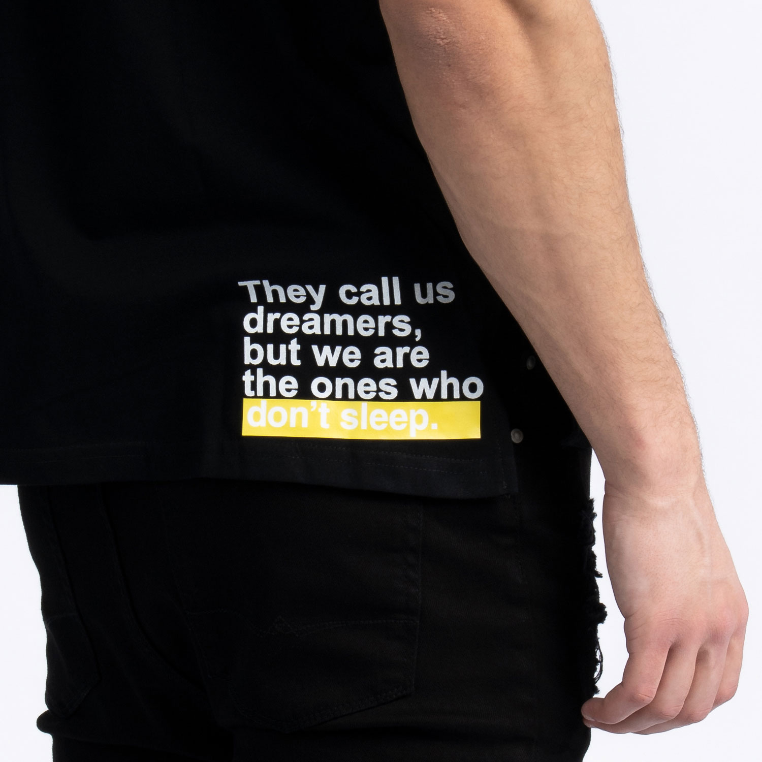 """They Call Us Dreamers"" V-Neck T-Shirt"